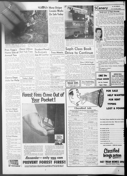 Daily Trojan, Vol. 45, No. 58, December 14, 1953