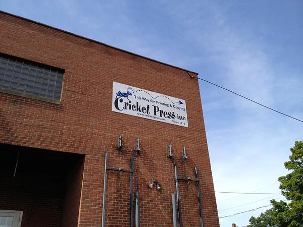 """West Hartford """"Cricket"""" Sign 08/07/12"""