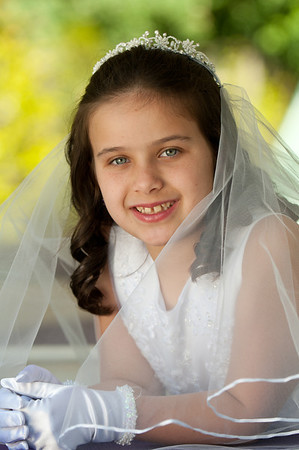 Mia's First Communion