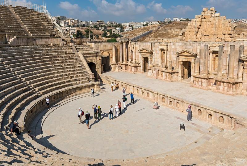 South Theatre, Jerash