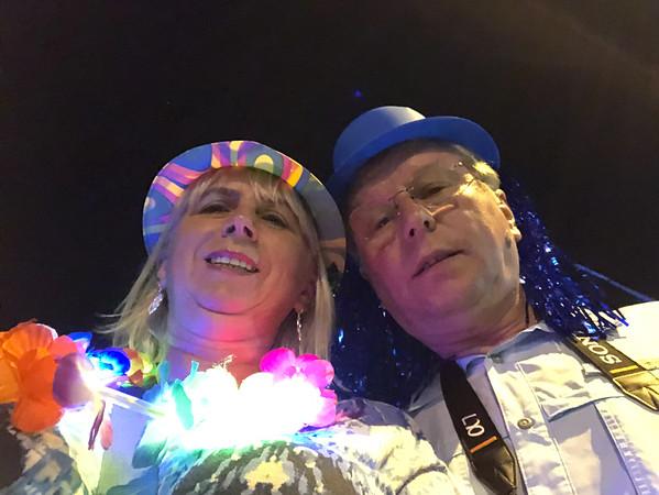 New Year 2019 Celebration, Santiago, Chile