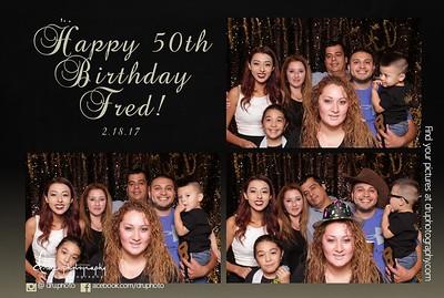 Fred 50th Birthday