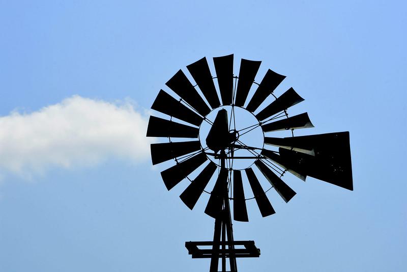 Old Fashion Wind Turbine