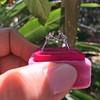 Old European Cut Diamond 3-Stone Trellis Setting, by Steven Kirsch 11