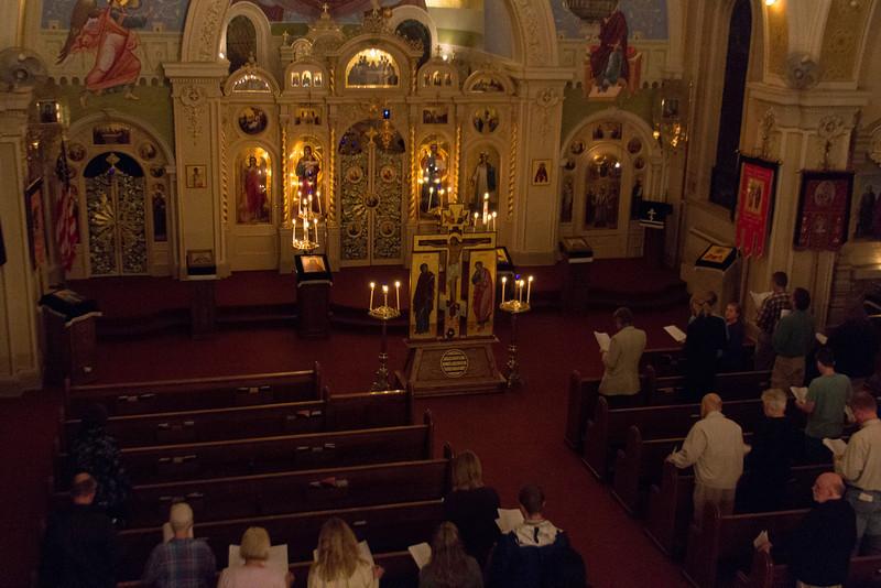 Holy Friday Matins 2012