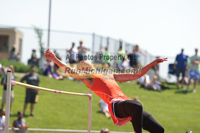 D1 Boys' High Jump - 2014 MHSAA LP T&F Finals
