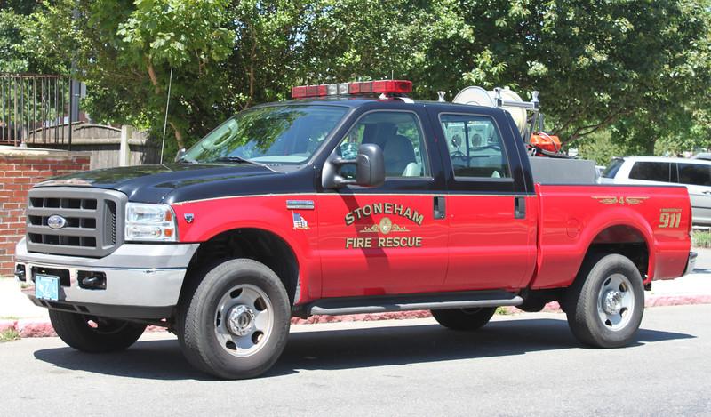 Pre Refurb   Car 4.  2004 Ford F-350 / Custom Skid.  125 / 200