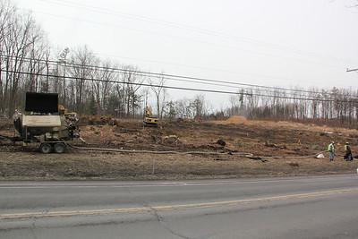 Construction, PPL Substation, along SR209, Lansford (2-26-2013)
