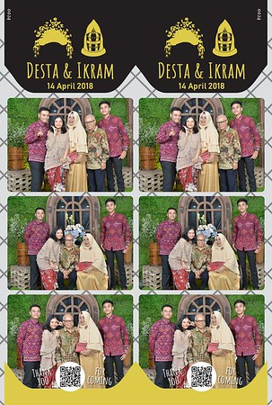 180414 | The Wedding Desta & Ikram