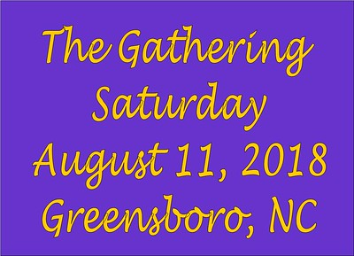 2018 The Gathering - Saturday Aug 11