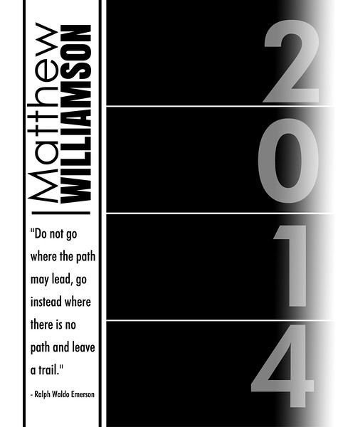 Follow your path - Full Page Template #2