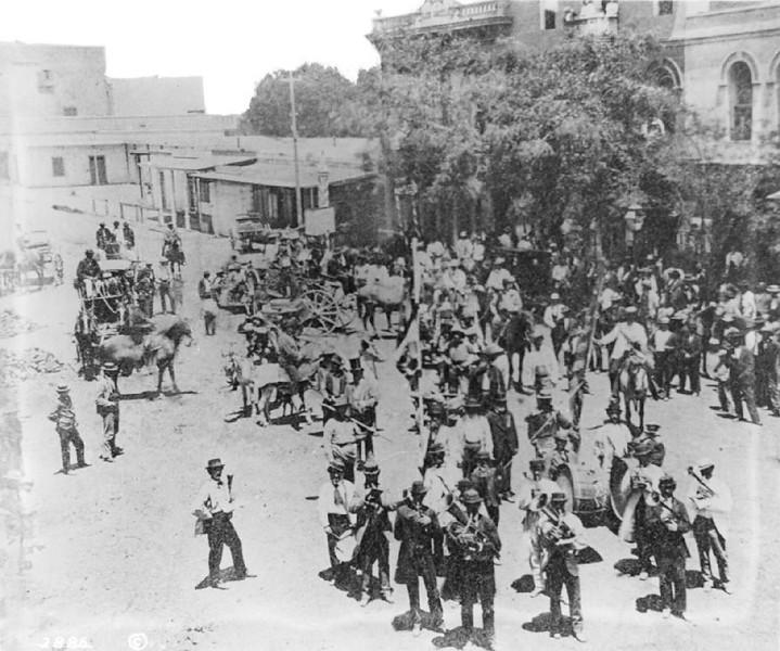 La Fiesta de Los Angeles, ca.1873-1875