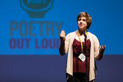 Poetry Out Loud, State Competition 2015