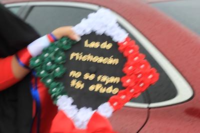 Adela Hat Project May 2019 latino graduation