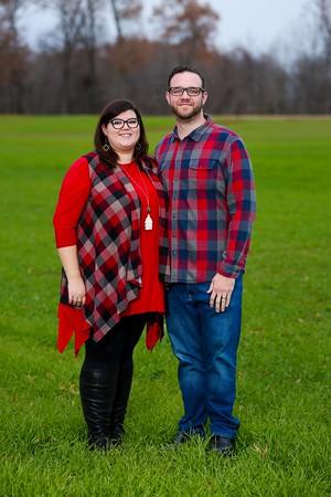 Kate and Brandon Christmas 2020