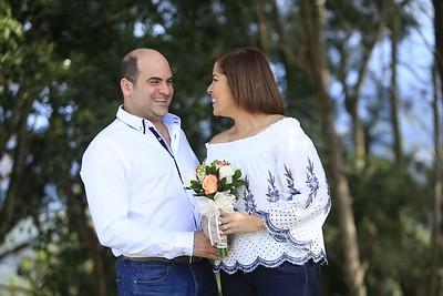 Previas Ana Cristina y José Luis