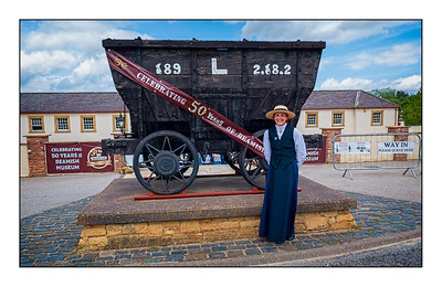 001 - Beamish Museum, Beamish, County Durham, UK - 2020.