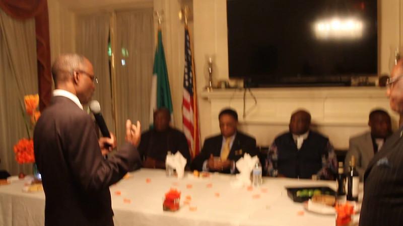 2016 - Dr. Okezie Ikpeazu - Governor of Abia State VISIT TO DC 2016