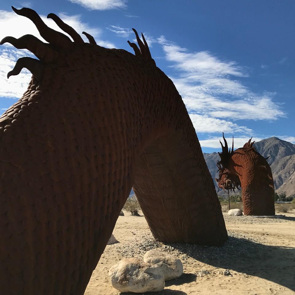 Anza-Borrego Desert - Giant Serpent - Fuzzygalore