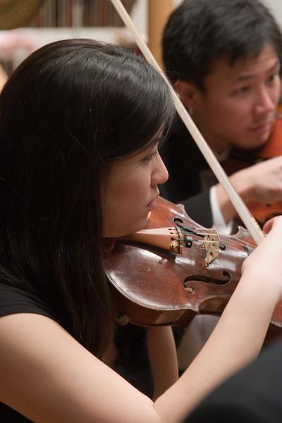 Stephanie Shiau, violin -- Hopkins Symphony Orchestra, March 2008
