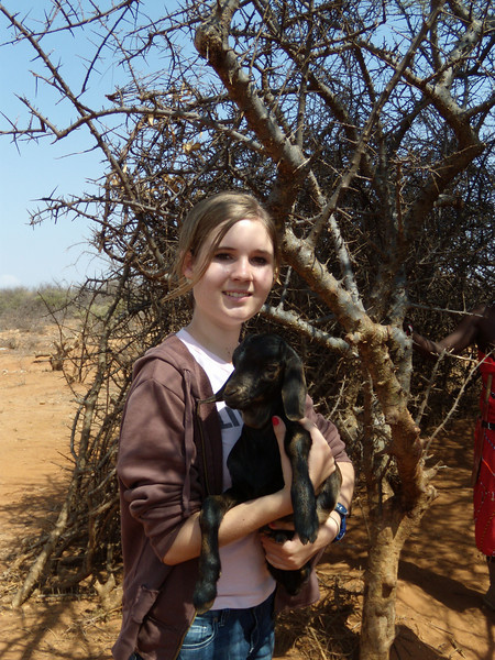 Audrey with Samburu Goat EMC 113.jpg