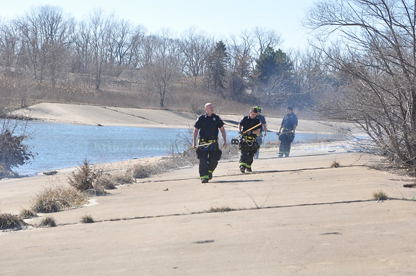 Dearborn - Brush Fire - Michigan and Southfield