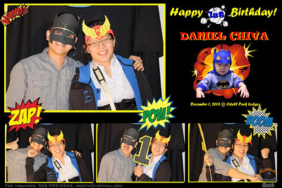 Daniel 1st Bday