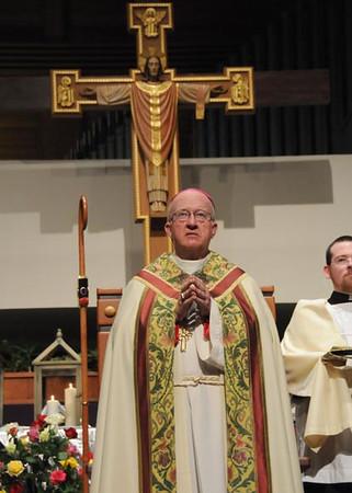 Bishop Vann's Installation in Orange Diocese