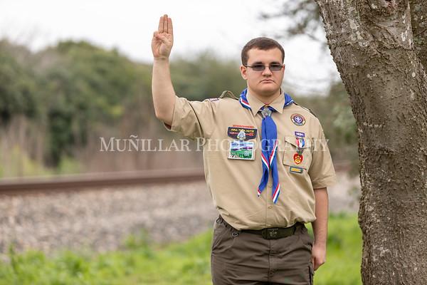Matthew Pillar Eagle Ceremony