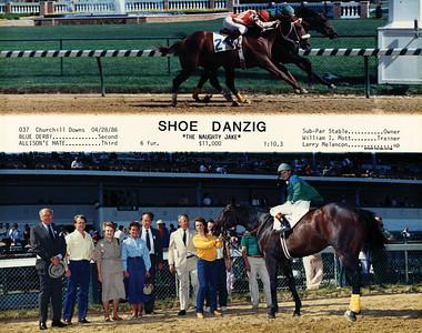 SHOE DANZIG - 4/28/1986
