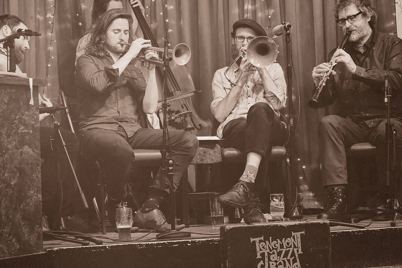 Tenement Jazz Band - Rochdale Jazz Club