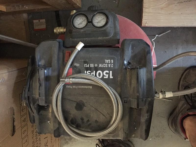 Lifesaving Compressor