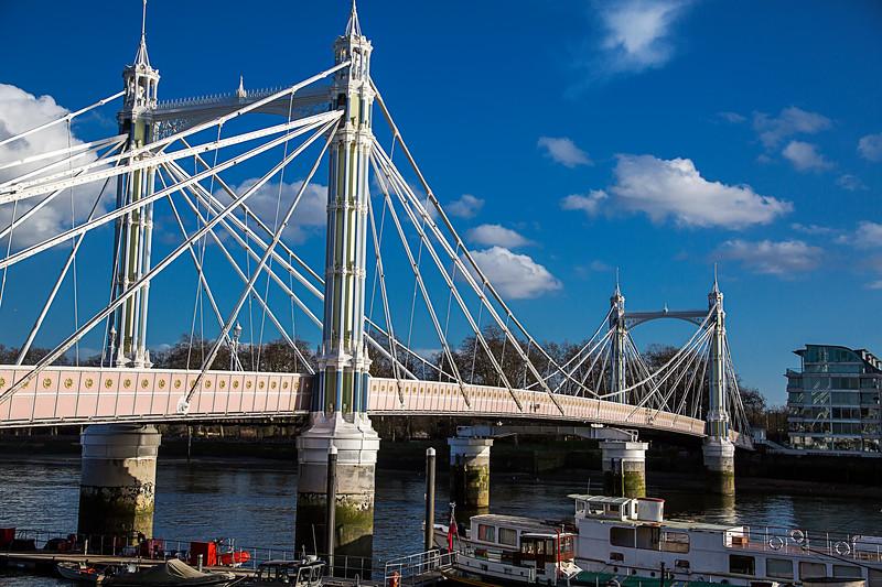 Albert Bridge, London