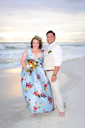 Mr. and Mrs. Saengmany. The Opulent Pearl  |  Panama City Beach