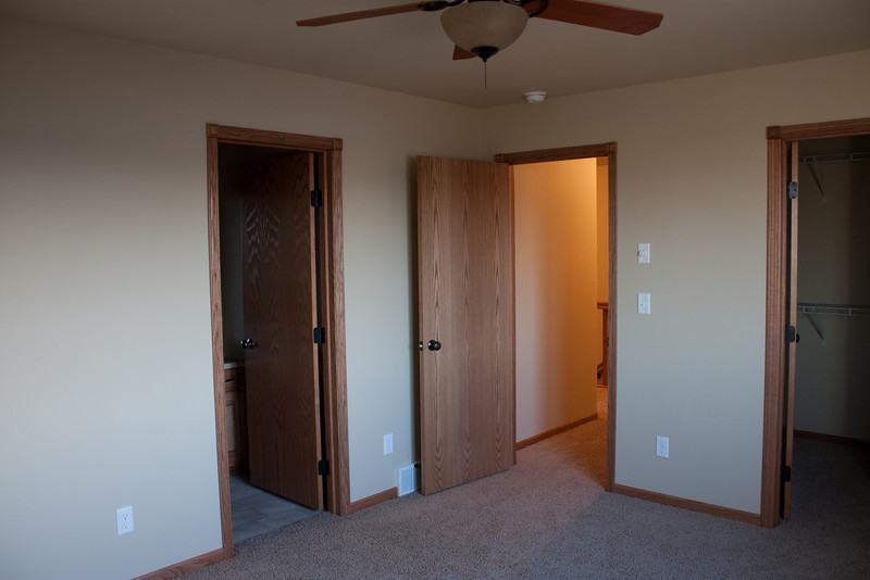 Master bedroom entrance