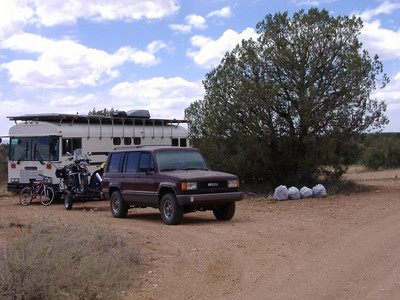 April 14, 2007: Big Black Mesa, near Prescott, Arizona