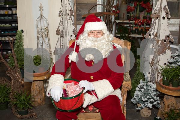 The Potting shed w/Santa 11-30-19