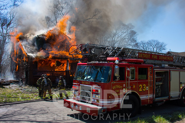 Vacant House Fire (4/17/16)
