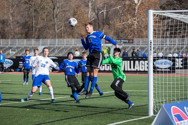 Boy's Soccer: St. Paul Lutheran vs Greenwood