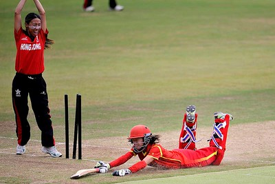 Women's World Cup - Asia Qualifiers: Hong Kong v China @ HKCC - 14 October, 2016