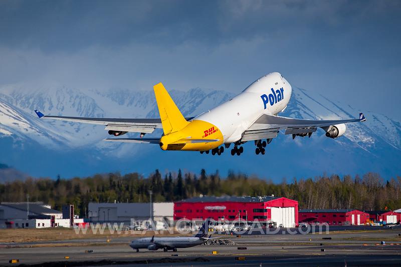 Polar 747-400 - N454PA - ANC