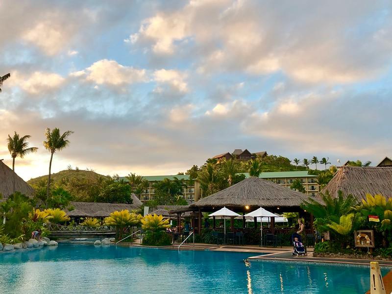 outrigger beach resort fiji