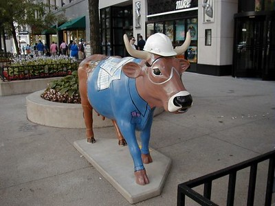 Construction Cow CHI054
