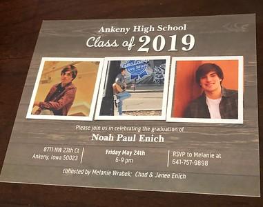 2019 Noah Enich Graduation
