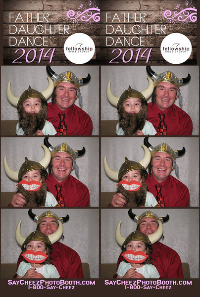 2014 Father Daughter Dance