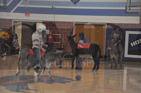 Mondovi FFA Donkey Basketball
