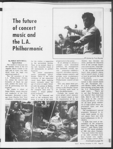 SoCal, Vol. 64, No. 38, November 15, 1971