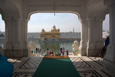 Amritsar, The Punjab, Sikh Golden Temple