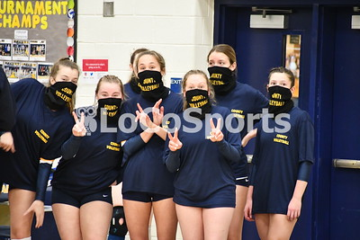 Volleyball: Loudoun County 3, Lightridge 0 by Caroline Layne on March 9, 2021