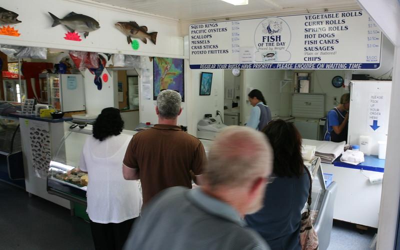 Fish Shop in Mangonui
